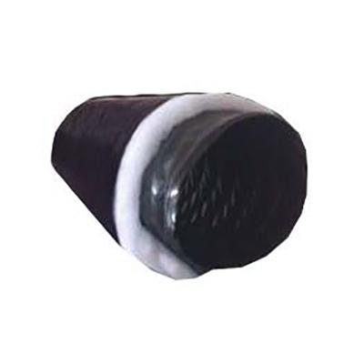 Tubo condotto PVC nero flessibile isolato 10 mt