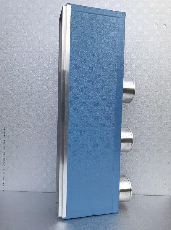 KIT ZONE DISTRIBUZIONE ARIA + PLENUM MACCHINA per condizionatore canalizzato
