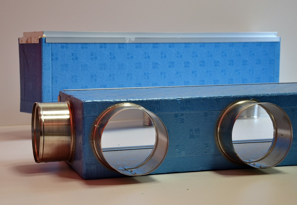 Plenum per bocchette di mandata e diffusori aria condizionata - Provenzano